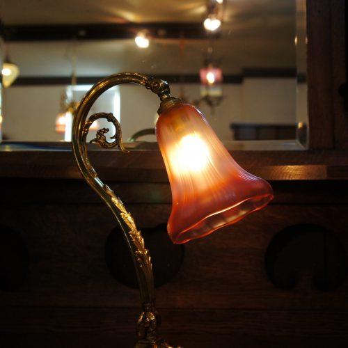 ヴァセリンガラス アンティーク ヴァセリンガラス・ランプシェード – 45018|西洋・アンティーク家具の専門店「家具のこばやし」ヴァセリンガラス・ランプシェード- 福島県福島市アンナガーデン