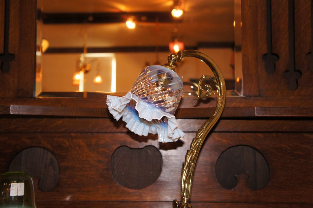 ヴァセリンガラス アンティーク ヴァセリンガラス・ランプシェード – 57024|ヴァセリンランプ 西洋・アンティーク家具の専門店「家具のこばやし」- 福島県福島市アンナガーデン
