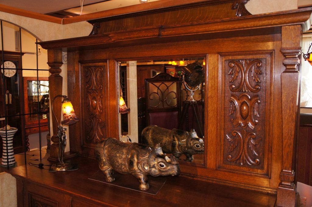アンティーク家具 ミラーバックサイドボード – 55159|ヴァセリンランプ 西洋・アンティーク家具の専門店「家具のこばやし」- 福島県福島市アンナガーデン