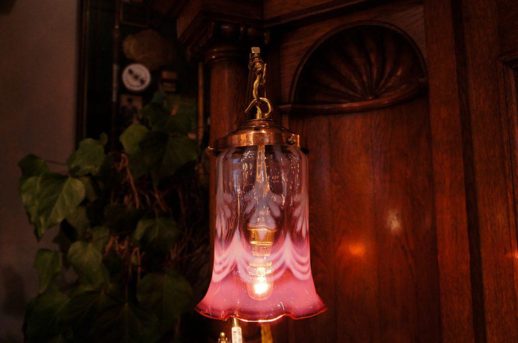 ヴァセリンガラス アンティーク アンティーク ヴァセリンガラス・ランタン – 62001 (SOLD)|ヴァセリンランプ 西洋・アンティーク家具の専門店「家具のこばやし」- 福島県福島市アンナガーデン