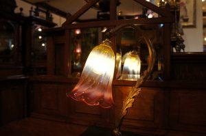 ヴァセリンガラス アンティーク ヴァセリンガラス・ランプシェード – 62014 (SOLD)|ヴァセリンランプ 西洋・アンティーク家具の専門店「家具のこばやし」- 福島県福島市アンナガーデン