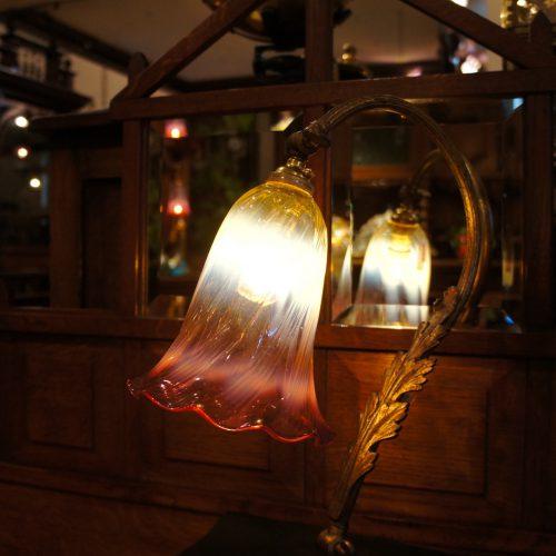 ヴァセリンガラス ヴァセリンガラス・ランプシェード – 62014|西洋・アンティーク家具の専門店「家具のこばやし」ヴァセリンガラス・ランプシェード- 福島県福島市アンナガーデン