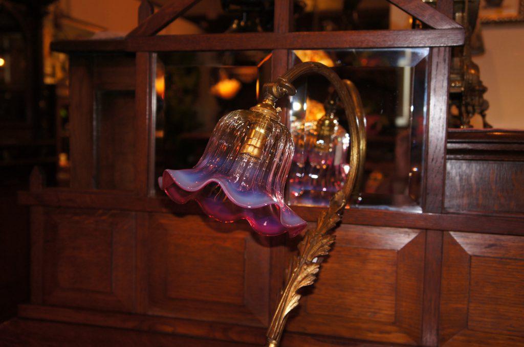 ヴァセリンガラス アンティーク ヴァセリンガラス・ランプシェード – 62035|ヴァセリンランプ 西洋・アンティーク家具の専門店「家具のこばやし」- 福島県福島市アンナガーデン