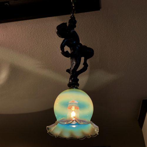 ヴァセリンガラス アンティーク ヴァセリンガラス・ランプシェード – 63154A (SOLD)|ヴァセリンランプ 西洋・アンティーク家具の専門店「家具のこばやし」- 福島県福島市アンナガーデン