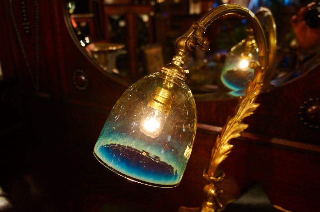 ヴァセリンガラス (NEW) アンティーク ヴァセリンガラス・ランプシェード – 64145|ヴァセリンランプ 西洋・アンティーク家具の専門店「家具のこばやし」- 福島県福島市アンナガーデン
