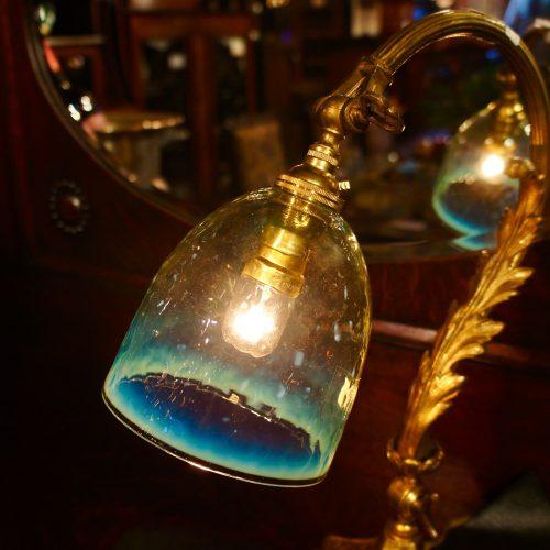 ヴァセリンガラス (NEW) アンティーク ヴァセリンガラス・ランプシェード – 64145 (SOLD)|ヴァセリンランプ 西洋・アンティーク家具の専門店「家具のこばやし」- 福島県福島市アンナガーデン