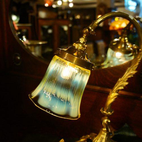 ヴァセリンガラス (NEW)  アンティーク ヴァセリンガラス・ランプシェード – 64148|ヴァセリンランプ 西洋・アンティーク家具の専門店「家具のこばやし」- 福島県福島市アンナガーデン