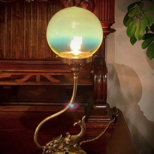 ヴァセリンガラス (NEW) アンティーク ヴァセリンガラス・ランプシェード – 64206|ヴァセリンランプ 西洋・アンティーク家具の専門店「家具のこばやし」- 福島県福島市アンナガーデン