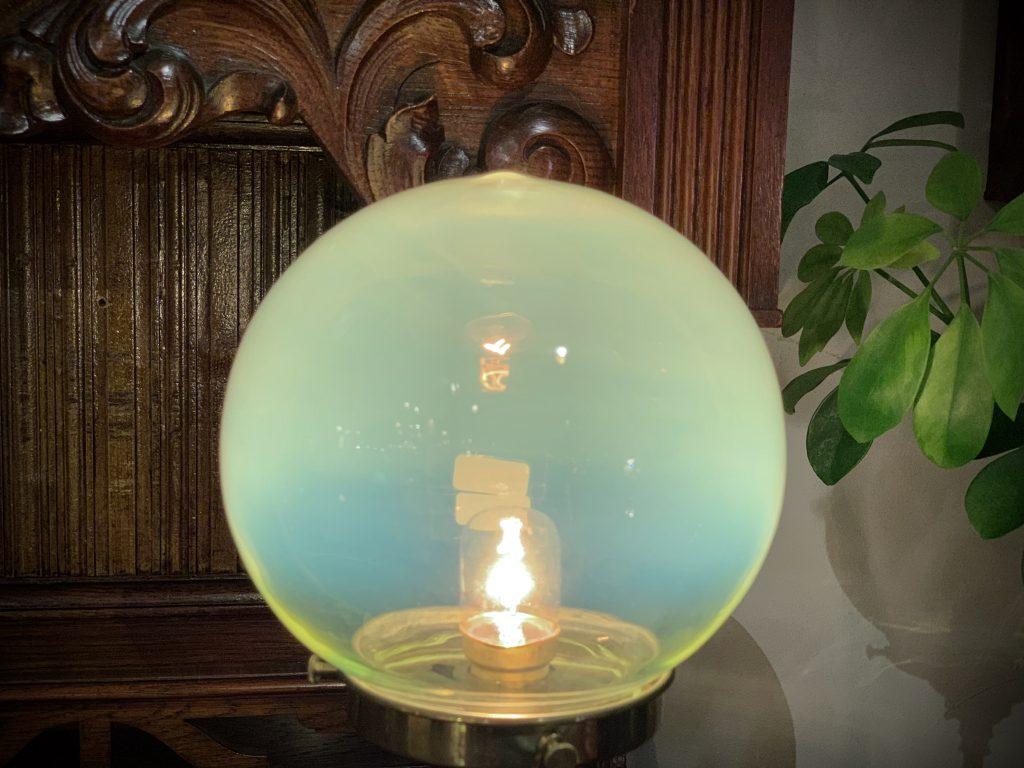 ヴァセリンガラス (NEW) アンティーク ヴァセリンガラス・ランプシェード – 64206 (SOLD)|ヴァセリンランプ 西洋・アンティーク家具の専門店「家具のこばやし」- 福島県福島市アンナガーデン