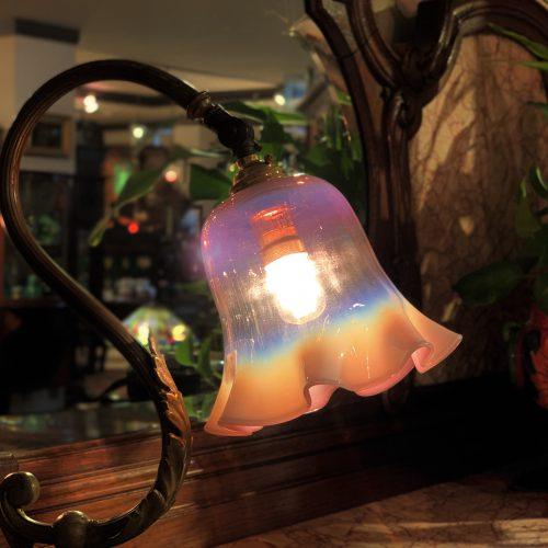 ヴァセリンガラス (NEW) アンティーク ヴァセリンガラス・ランプシェード – 66075 (SOLD)|西洋・アンティーク家具の専門店「家具のこばやし」ヴァセリンガラス・ランプシェード- 福島県福島市アンナガーデン